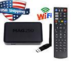 MAG250 DECODER IPTV 1080P HDMI STREAMING TV BOX MEDIA PLAYER USB WIFI MAG 250 US
