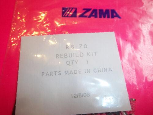 NEW ZAMA RB-70 CARBURRTOR KIT FITS  C1M FR1   RB70   OEM