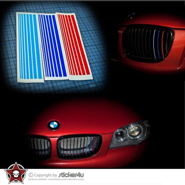 (29) BMW M Nieren Sticker E63 E64 E65 E67 E70 E71 E81 E82 E83 E84 E85 Performace