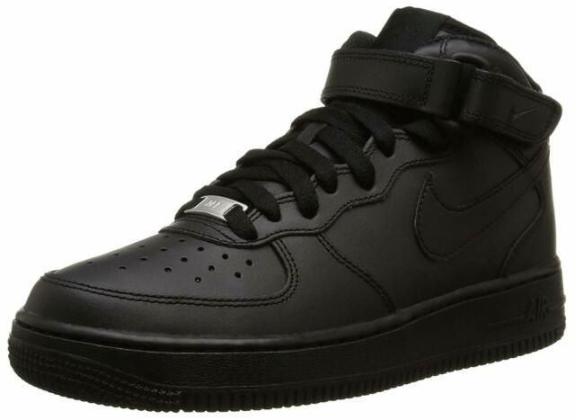 air force 1 bambino nere e bianche
