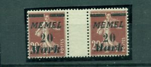 Memel-auf-franzoesischer-Marke-Nr-109-ZS-postfrisch