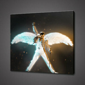 FREDDIE-MERCURY-QUEEN-ABSTRACT-CANVAS-PICTURE-PRINT-WALL-HANGING-ART-HOME-DECOR