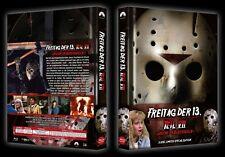 Mediabook FREITAG DER 13 Teil 7 JASON IM BLUTRAUSCH Limited EdBLU-RAY + DVD BOX