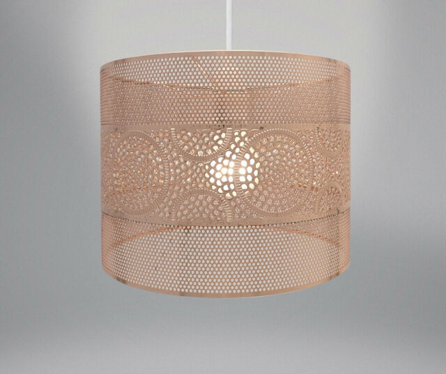 Country Club Metal Light Shade Copper, Copper Mesh Lamp Shade