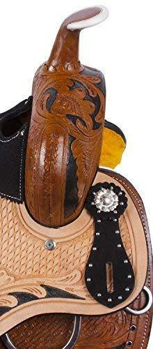 """10/"""" /& 12/"""" Details about  /Youth Child Premium Leather Western Pony Miniature Horse Saddle Tack"""
