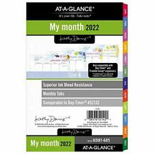 2022 Monthly Planner Refill By At A Glance 52132 Day Timer 5 12 X 8 12