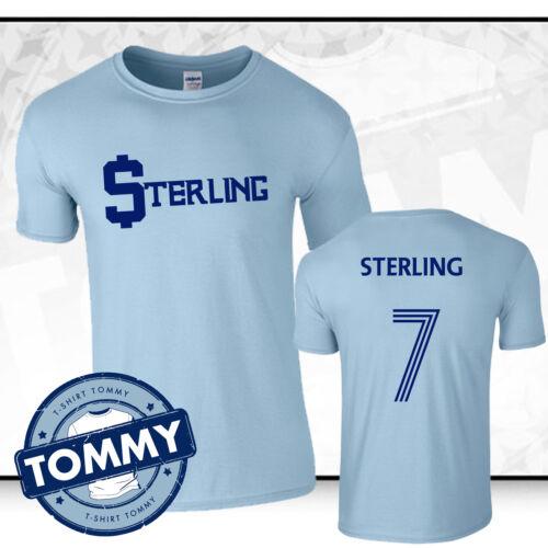 Sterling $$$ tshirt Man City Raheem Sterling T-Shirt man city tshirt