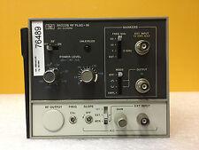 HP 86222B + Opt 002/004, 0.01 to 2.4 GHz, RF Sweep Oscillator Plug-In, Tested!