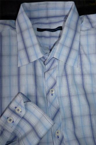 ZACHARY PRELL PLAID DRESS SHIRT 1736