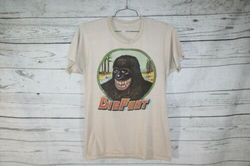 Bigfoot Vintage 1975 Unisex Single Stitch Cartoon