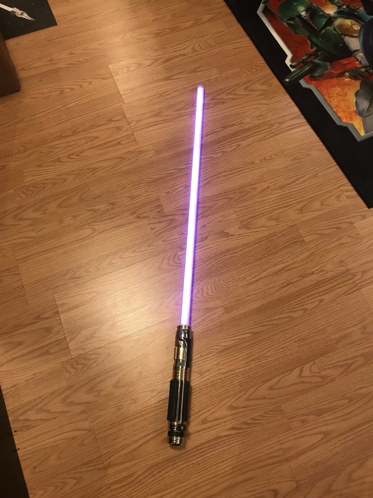 Mace Windu Lightsaber Force F X STAR WARS Master Replicas 2005