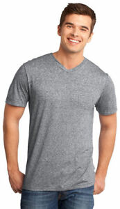District-Men-039-s-Casual-Weathered-Short-Sleeve-V-Neck-Basic-Tee-XS-4XL-DT161