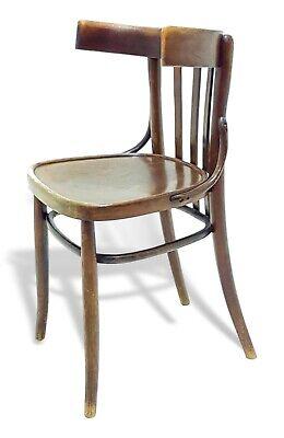 Sedia da ufficio anni '60 in legno di faggio