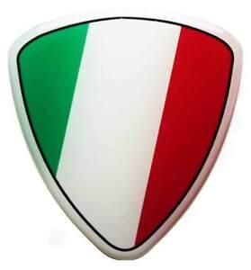 3D-Kfz-Aufkleber-gedomt-Wappen-2-Italien-R30