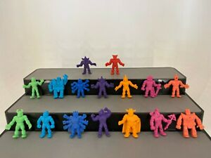Vintage1980s-M-U-S-C-L-E-Muscle-Men-Kinnikuman-Figure-Lot