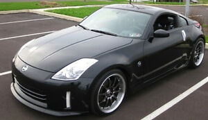 FRONT-BUMPER-LIP-SPOILER-VALANCE-COMPATIBLE-WITH-NISSAN-350Z-350-FACELIFT
