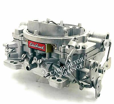 1407 Edelbrock Carburetor 750 CFM Manual Choke   eBay
