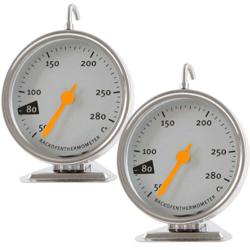 Stainless Steel Baking Oven Thermometer Kitchen Food Meat Cooking 50-280  gtsw