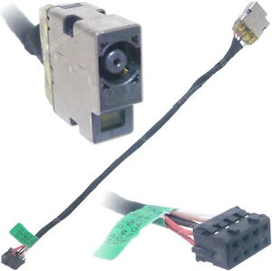 Details about HP 250 G3 DC Power Jack Port Socket W/ Cable Connector on