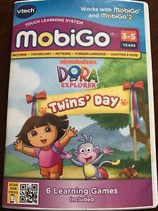 New-VTech-Dora-The-Explorer-Twins-Day-Mobigo-amp-Mobigo-2-Nickelodeon