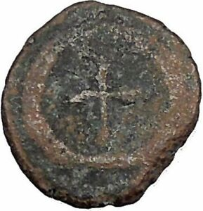THEODOSIUS-II-425AD-Ancient-Roman-Coin-Cross-within-wreath-of-success-i32907