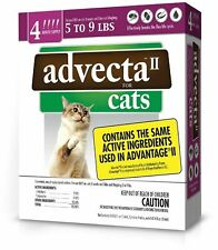 Advecta II Flea Treatment for Cats 5 to 9 Lbs 4 Month Supply