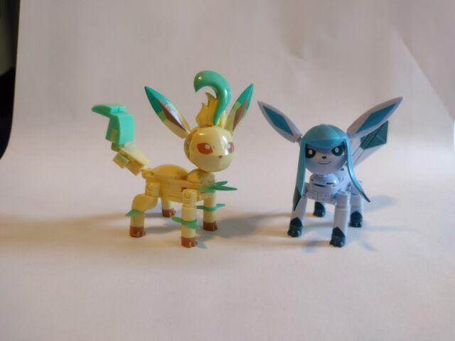 Mega Construx Pokémon Glaceon and Leafeon - Eevee evolutions