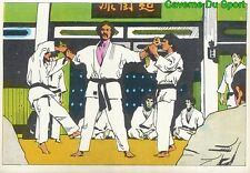 073 BRUCE LEE STICKER VIGNETTE FIGURINE CROMO KUNG FU KARATE FRANCE 1976