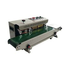 Continuous Band Sealer Auto Sealing Machine Pvc Membrane Film 110v