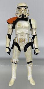 Star-Wars-Black-Series-Sandtrooper-6-034-Figure-First-Wave-1-Orange-Line-Pauldron