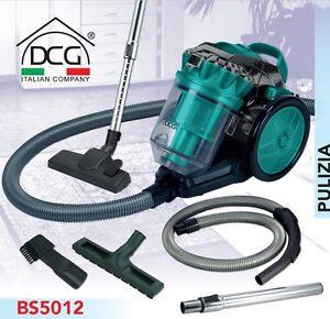 Aspirapolvere-ciclone-aspira-polvere-senza-sacchetto-classe-A-Dcg-BS5012-Rotex