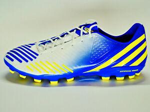 Details zu Adidas Predator LZ TRX AGweißblaugelbFußballNockenschuheGröße 46G64944