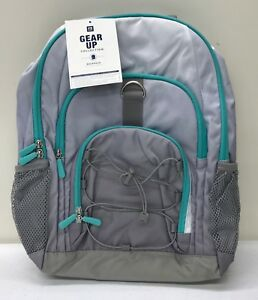4d16e9d9fad4 NEW Pottery Barn TEEN Gear-Up Ombre Backpack~Gray w Pool~NO MONO