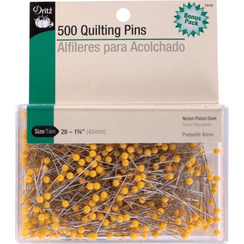 "1-3//4/"" Dritz Pins Quilting Pins 500 Ct."
