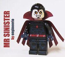 LEGO Custom - Mr Sinister - Marvel X-Men Super heroes mini figure