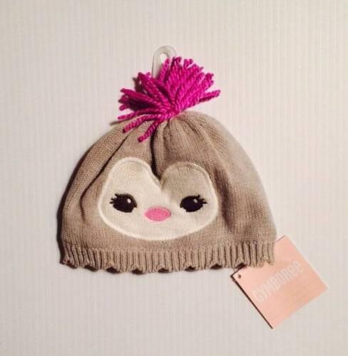 Gymboree NWT Girls Polar Princess Grey Hat Cap Size 6-12 M