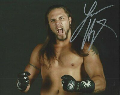 Lance Hoyt Autographed Wrestling 8x10 ROH//TNA//WWE Black Photo