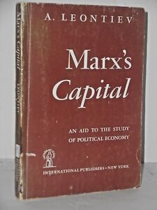 Marx-039-s-Capital-An-Aid-to-the-Study-of-Political-Economy-1st-1946-pb