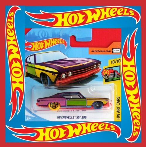 Hot Wheels 2018 /'69 Chevelle SS 396 #hw Art Cars # 302//365 neu/&ovp