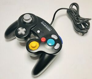 Genuine-Nintendo-GameCube-Black-Wired-Controller-DOL-003-Excellent-Condition