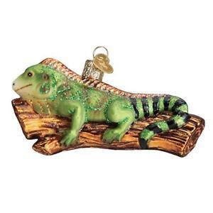 Old-World-Christmas-IGUANA-12540-N-Glass-Ornament-w-OWC-Box