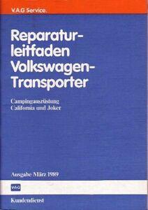 VW-Bus-T3-Reparaturleitfaden-Campingausruestung-UNBENUTZT-Neuwertig