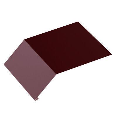 Regenrinnen & Zubehör Fürs Dach Roofart Tropfblech Traufblech Passend Für Das Dachpfannenprofil In Ziegeloptik 100% Hochwertige Materialien