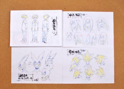 My Hero Academia settei sheets
