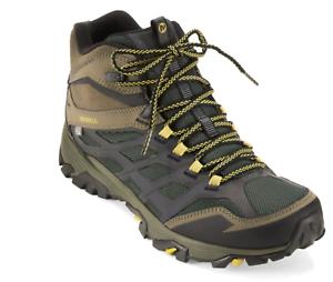 Merrell Mens Moab FST Ice Thermo Boots Sz 8.5 M - NIB Pine Grove Olive J35789