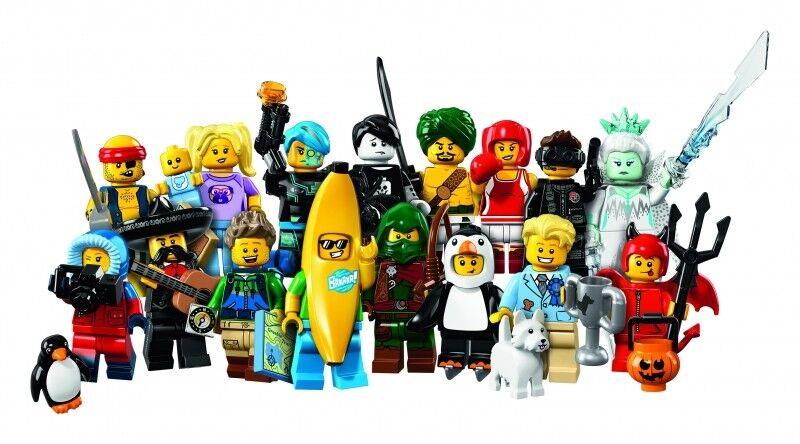 LEGO ® 71013 Minifigures Series 16 toutes les 16 toute nouvelle Minifiguren   Livraison
