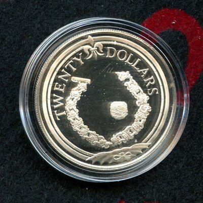 Gold Bracelet 925/% Silver Issue #12 1985 $20 British Virgin Islands