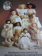 Gay Talbott Boassy Doll Ad / TENDER TODDLERS Advertisement ONLY