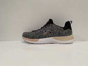 Skechers Womens Breakthrough Black Coral Walking Shoes Size 9.5