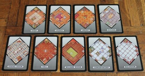 CLUEDO BOARD GAME PARTS SPARES Choices of pieces incl Harry Potter Cluedo